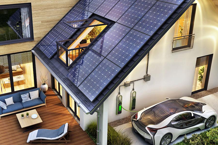 Unabhängig und klimaneutral leben mit Strom Ihrer Photovoltaikanlage